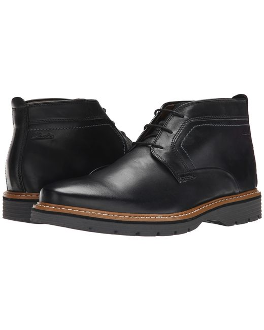 Clarks | Black Newkirk Top for Men | Lyst