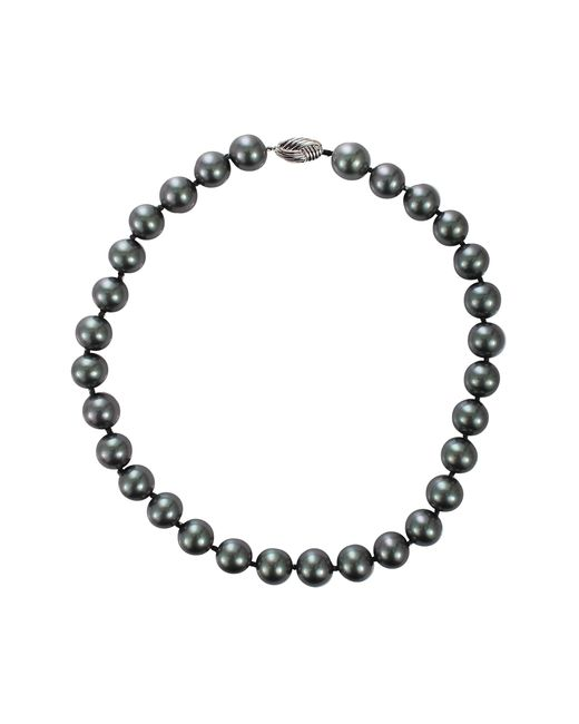 Fantasia Jewelry | Gray Grey Pearl Necklace | Lyst
