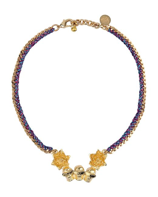 Venessa Arizaga | Metallic Necklace | Lyst