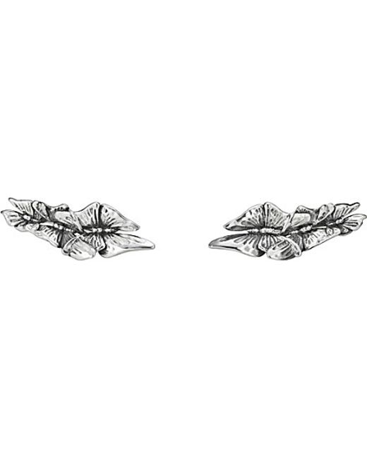Georg Jensen | Metallic Askill Oxidated Sterling Silver Ear Cuffs | Lyst