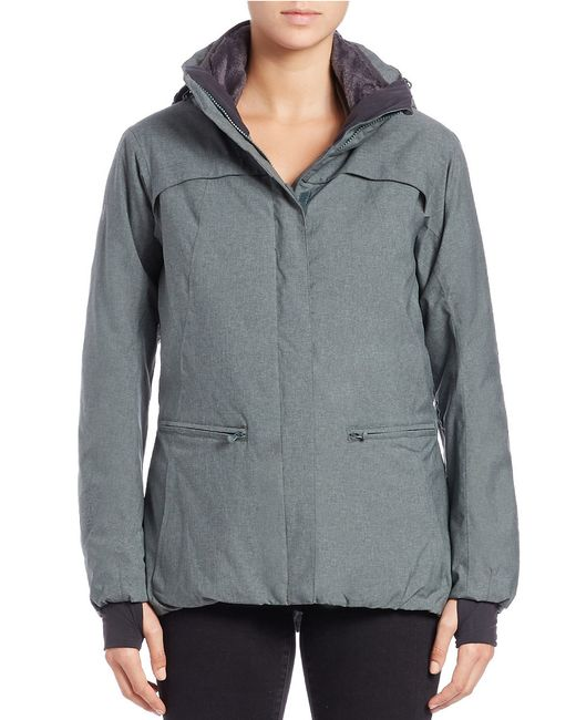 Helly Hansen | Gray Kate Anorak Jacket | Lyst