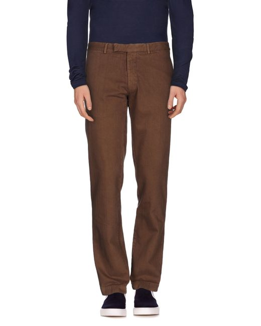 Alain | Brown Denim Pants for Men | Lyst