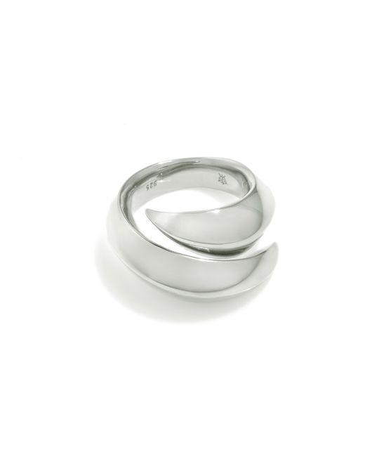 Kasun | Metallic Vampire Claw Ring Silver | Lyst
