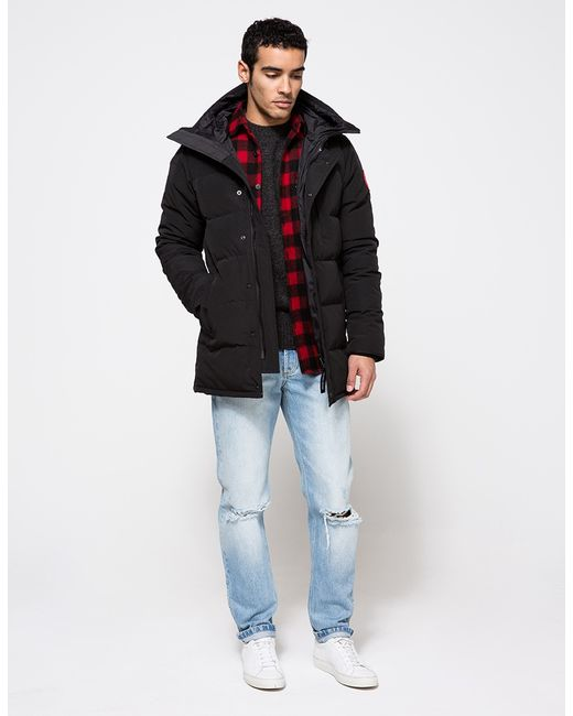 Canada Goose chilliwack parka outlet cheap - Canada goose Carson Parka In Black in Black for Men | Lyst