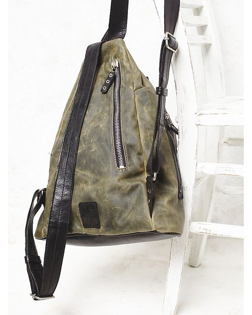 Free People | Green Banjo Backpack | Lyst