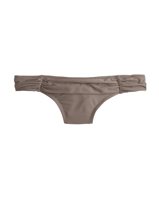 J.Crew | Gray French Bikini Top | Lyst