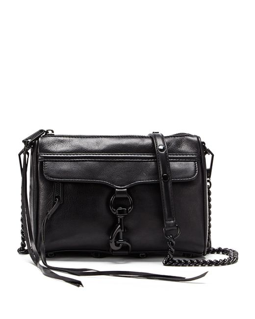 Rebecca Minkoff | Black Mini Mac Clutch Bag | Lyst