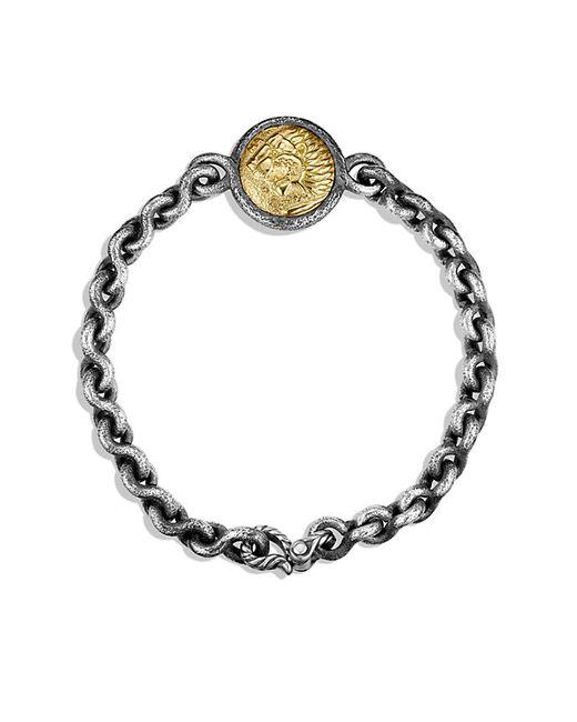 David Yurman   Metallic Petrvs Lion Bracelet With 18k Gold for Men   Lyst