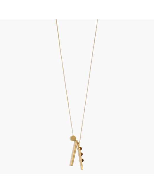 Madewell | Metallic Stargraph Pendant Necklace | Lyst