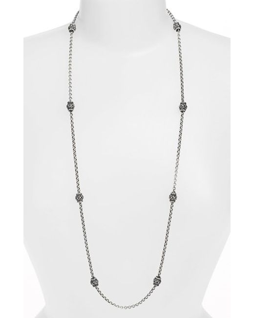 Konstantino | Metallic 'classics' Long Station Necklace | Lyst