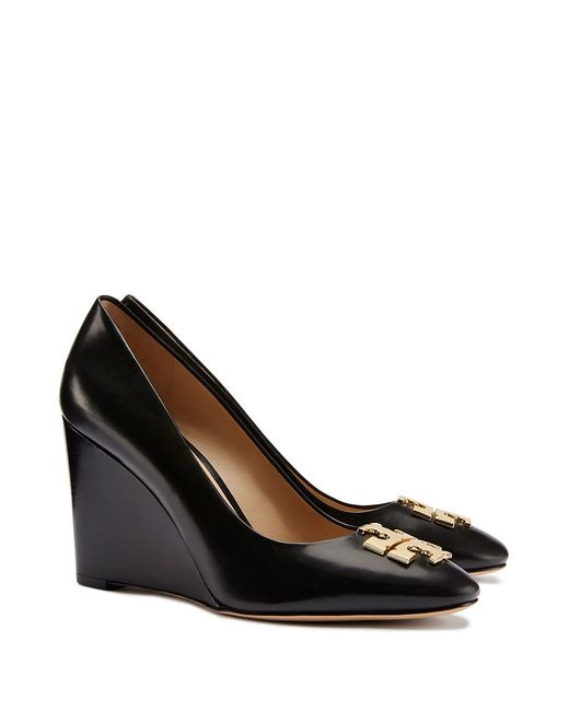 Tory Burch | Black Raleigh Wedge | Lyst