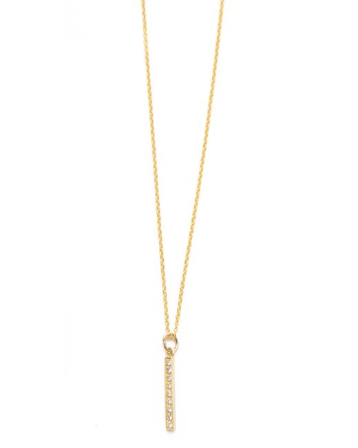 Jennifer Meyer | Metallic Diamond Pendant Necklace | Lyst