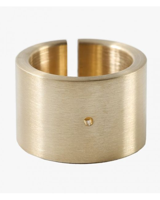 Marmol Radziner | Metallic Heavyweight Cut Double Wide Ring | Lyst