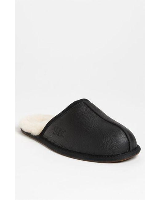 UGG | Black Scuff Mule Slippers for Men | Lyst