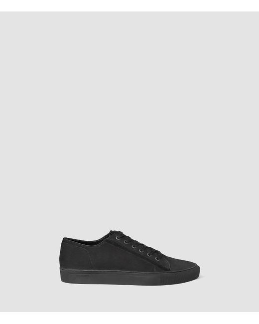 AllSaints | Black Circuit Low-top for Men | Lyst
