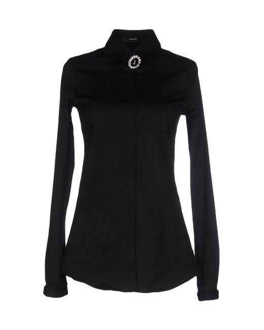 Aglini | Black Shirt | Lyst