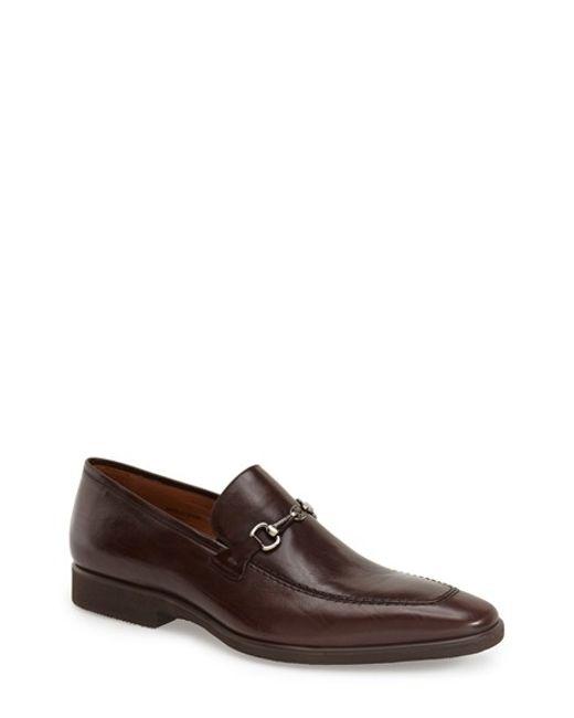 Mezlan | Brown 'cardiff' Bit Loafer for Men | Lyst