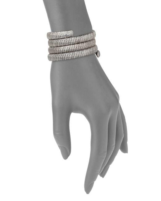 John Hardy   Metallic Classic Chain Sterling Silver Multiple Coil Bracelet   Lyst
