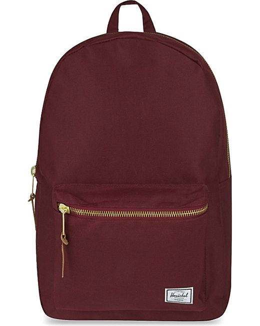 Herschel Supply Co Settlement Backpack: Herschel Supply Co. Settlement Backpack In Purple (Windsor
