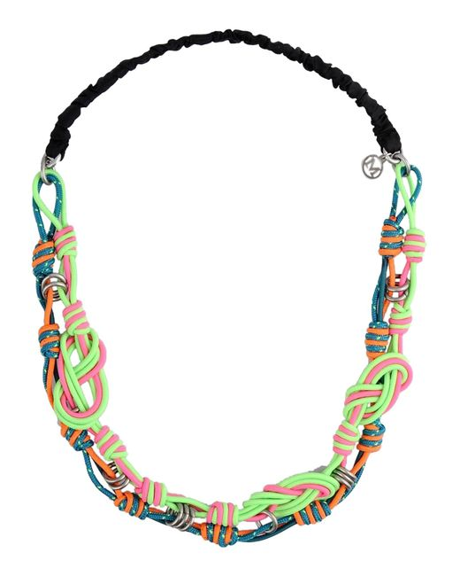 Maison Michel | Green Necklace | Lyst