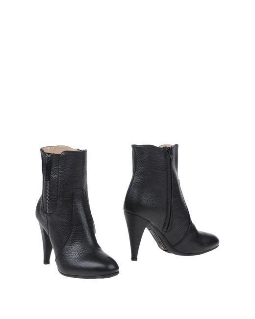 Alessandro Dell'acqua | Black Ankle Boots | Lyst