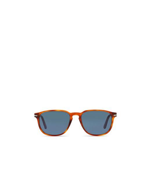 Persol | Blue 3019s Suprema Rectangle Sunglasses, 55mm | Lyst