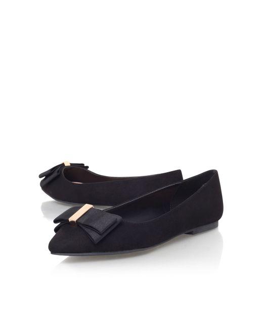 Miss Kg | Black Nessy Flat Slip On Shoes | Lyst
