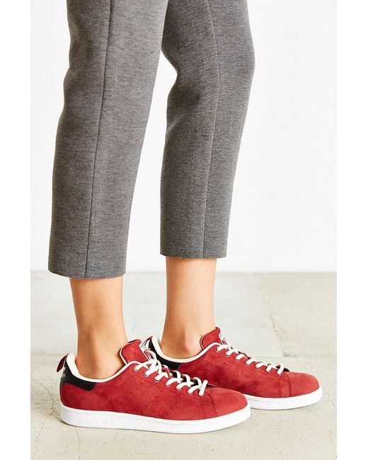 Adidas Originals | Purple Leather Nubuck Stan Smith Sneaker | Lyst
