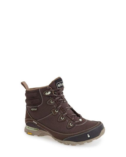 Ahnu   Blue 'sugarpine' Waterproof Boot   Lyst