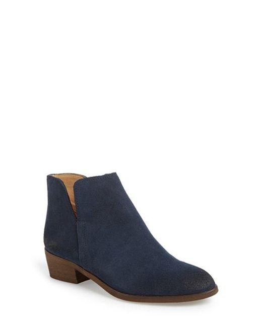 Splendid | Blue 'Hamptyn' Almond Toe Ankle Bootie | Lyst