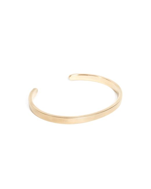 Miansai - Metallic Singular Cuff Bracelet for Men - Lyst