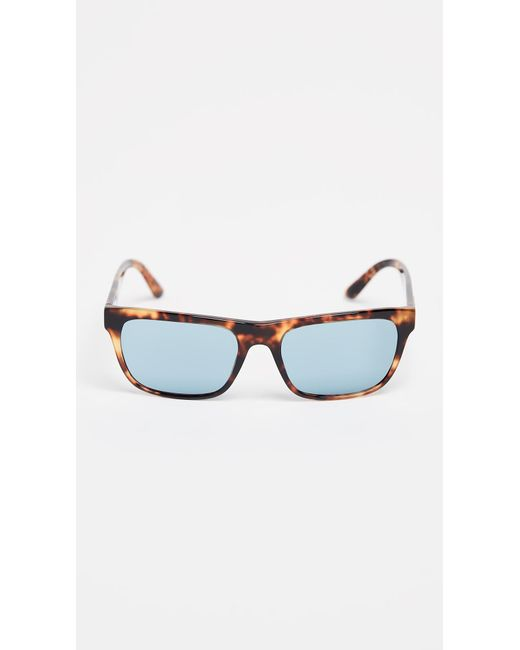 60e3ff0cbc69 Burberry - Blue Square Sunglasses for Men - Lyst ...