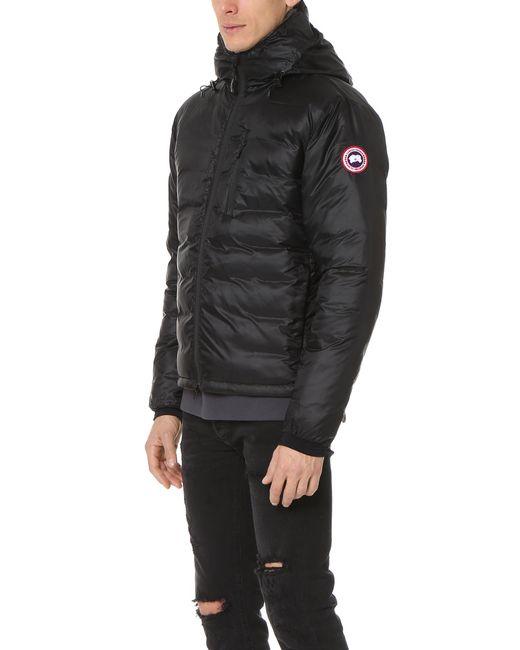 Canada Goose Lodge Hoodie Jacket In Black For Men Lyst