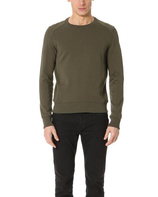 Belstaff | Green New Chanton Sweatshirt for Men | Lyst