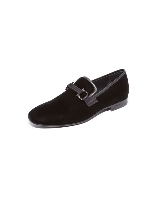 Ferragamo | Black 'party' Bit Loafer for Men | Lyst