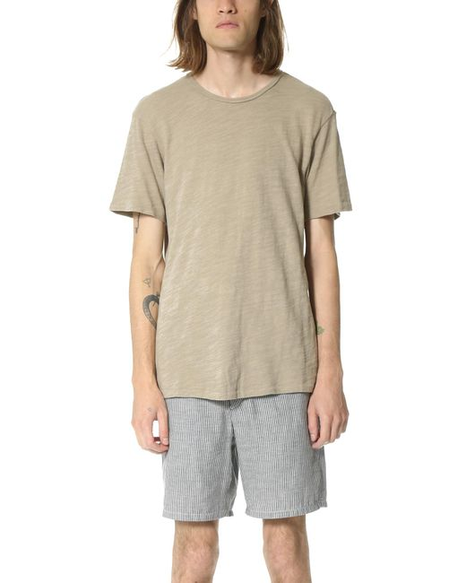 Rag & Bone | Natural Basic T-shirt for Men | Lyst