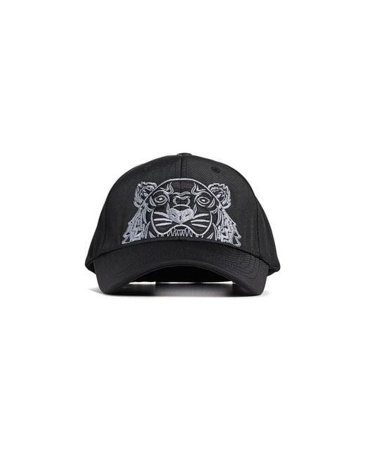 0061789077c ... KENZO - Black Cap for Men - Lyst