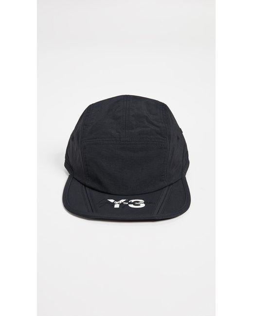 82a202b178bcb Y-3 - Black Foldable Hat for Men - Lyst ...