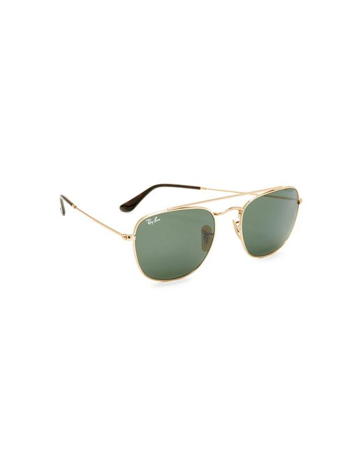 Ray-Ban - Green Rounded Caravan Sunglasses for Men - Lyst