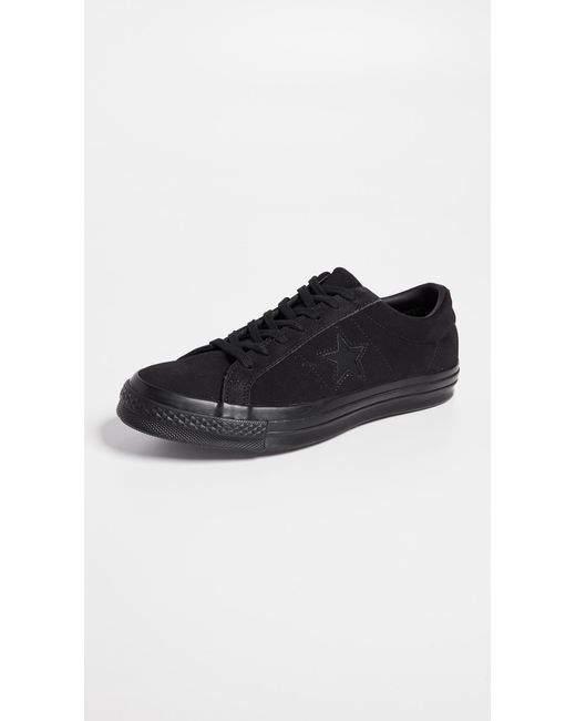 f298ff073058 Converse - Black One Star Low Top Sneakers for Men - Lyst ...