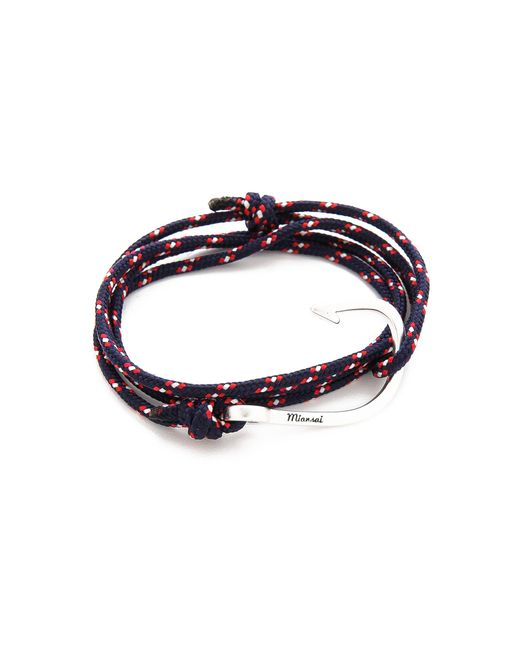 Miansai | Metallic Hooked Rope Wrap Bracelet for Men | Lyst