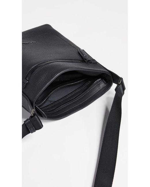 ... Ferragamo - Black Firenze Leather Crossbody Bag for Men - Lyst ... 7d44c4ec786dc