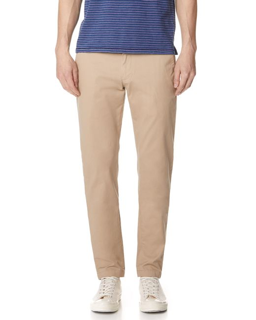 Club Monaco - Natural Connor Stretch Chinos for Men - Lyst