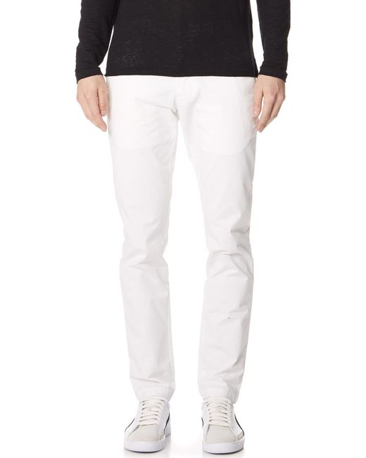 Club Monaco - White Stretch Connor Chinos for Men - Lyst