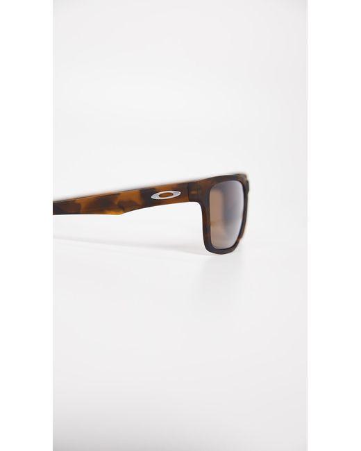 c6d3725b91 ... Oakley - Brown Holston Sunglasses for Men - Lyst ...
