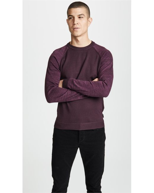 Ted Baker - Red Cornfed Sweater for Men - Lyst