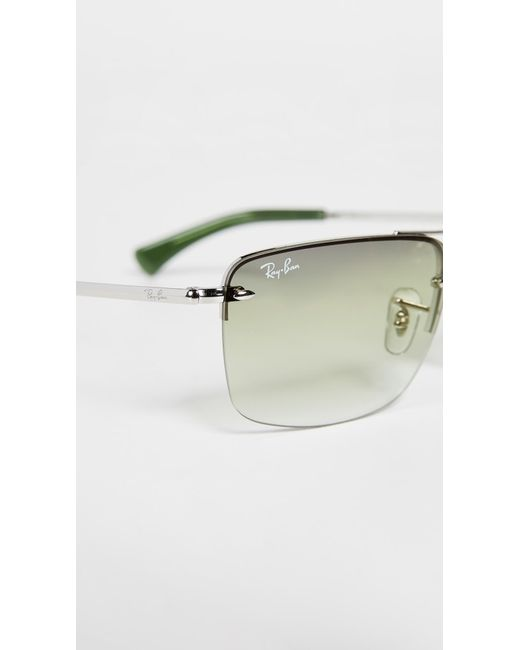 0060931a5a2 ... Ray-Ban - Green Rb3607 Sunglasses for Men - Lyst ...