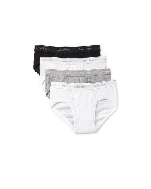 Calvin Klein | Multicolor 4 Pack Cotton Classic Low Rise Hip Briefs for Men | Lyst