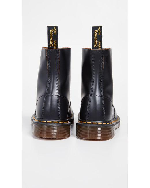 c0da6a3a755 ... Dr. Martens - Black Made In England Vintage 1460 8 Eye Boot for Men ...