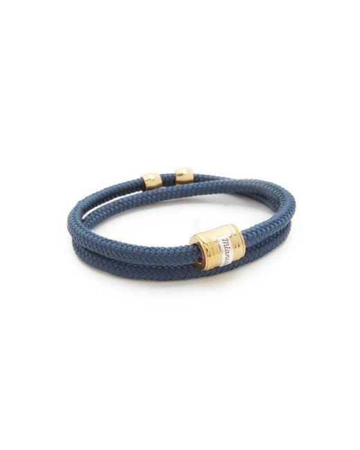 Miansai - Blue Casing Rope Bracelet for Men - Lyst